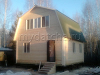 Дом из бруса 6х6 (Д3)