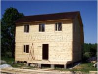 Дом из бруса 6х7 (Д17)
