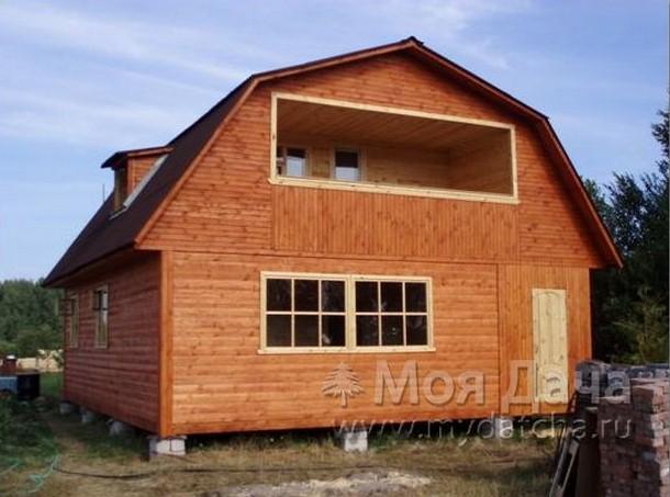 Дом из бруса 8х9 (Д19)