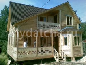 Дом из бруса 7х9 (Д21)