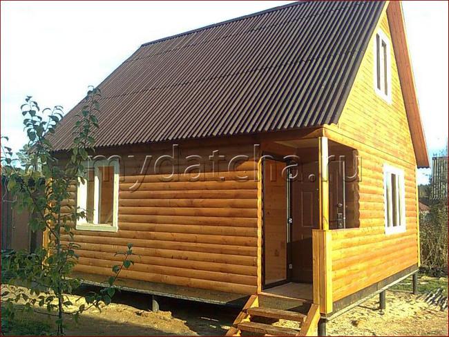 Дом из бруса 6х6 (Д23)