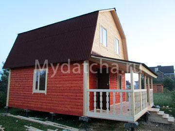 Дом из бруса 6х7,5 (Д26)