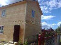 Дом из бруса 6х8 (Д27)