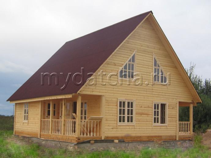 Дом из бруса 9х9 (Д31)