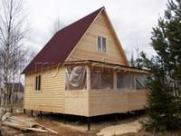 Дом из бруса 6х8 (Д33)