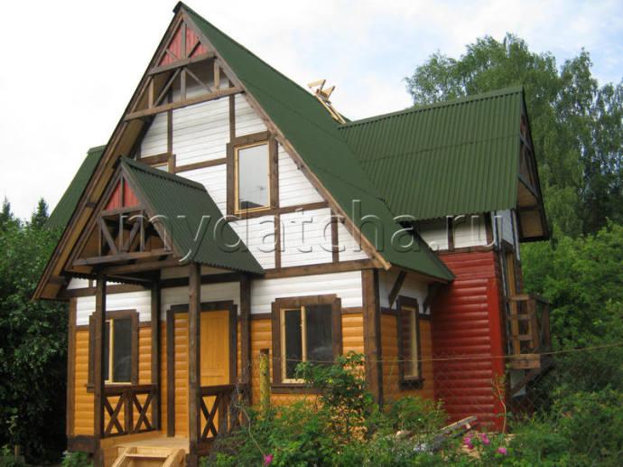 Дом из бруса 8х9 (Д34)