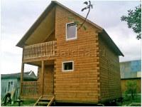 Дом из бруса 6х8 (Д35)