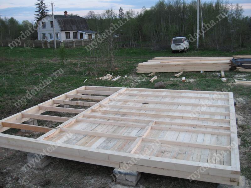 Построить дом 6х6 своими руками