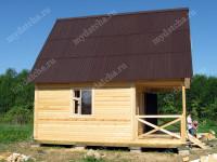 Дом из бруса 6х6 (Д38)