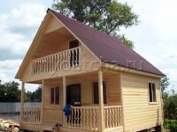 Дом из бруса 6х6 (Д39)