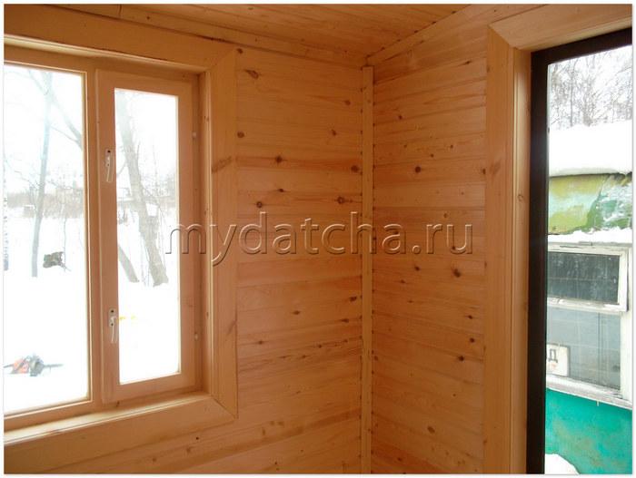 железные двери в брусовый дом