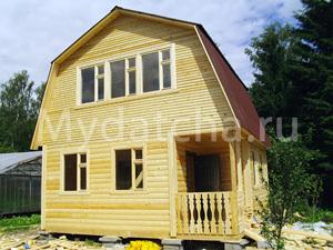 Дом из бруса 6х6 (Д42)