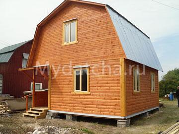 Дом из бруса 6х6 (Д46)