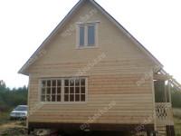 Дом из бруса 6х8 (Д55)