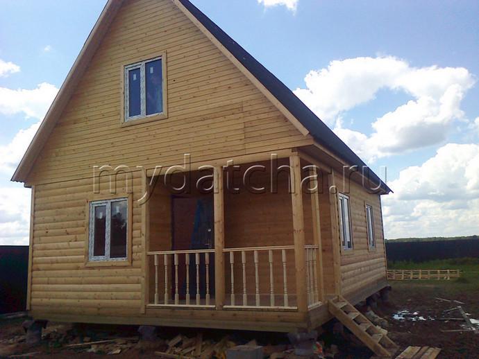 Дом из бруса 6х8 (Д57)