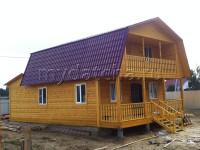 Дом из бруса 7х12 (Д58)