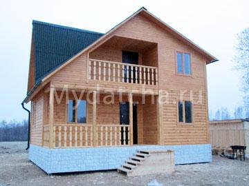 Дом из бруса 6х8 (Д59)