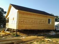Дом из бруса 7х8 (Д62)