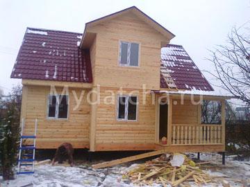 Дом из бруса 7х9 (Д63)