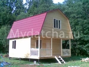 Дом из бруса 6х6 (Д8)