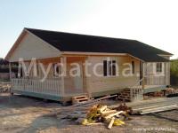 Дом из бруса 8х12.5 (Д64)