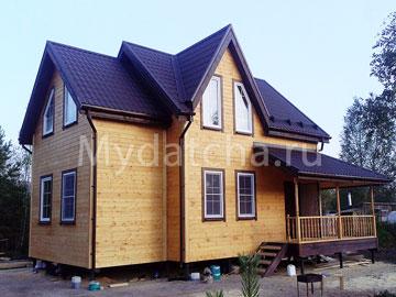 Дом из бруса 6х9 (Д65)
