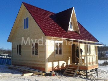 Дом из бруса 6х9 (Д66)