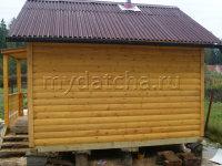 Баня из бруса 4х4 (Б28)