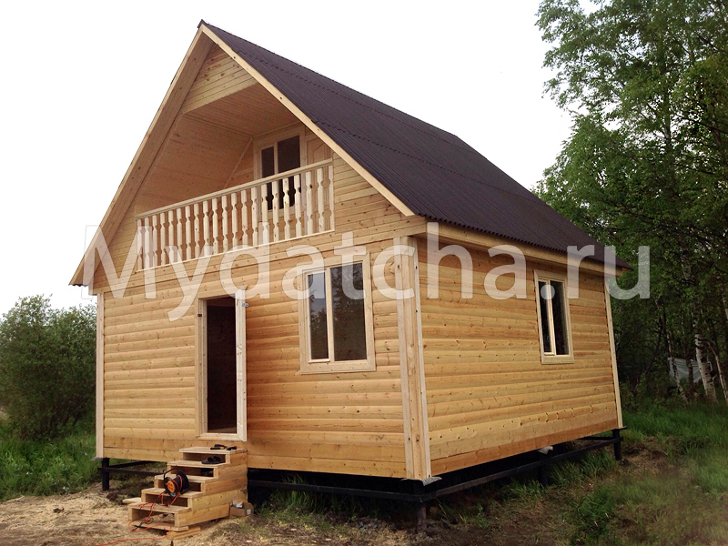 Строительство домов из бруса и бань из бруса