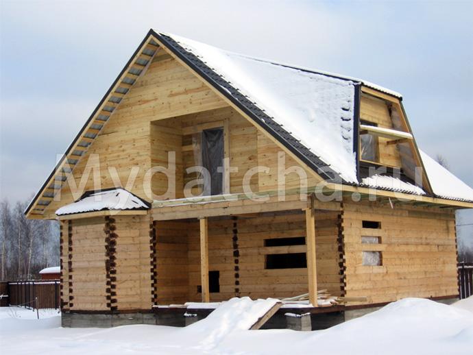 Дом из бруса 9х10,5 (ДУ1)