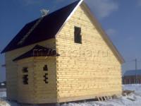 Дом из бруса 8х9 (ДУ13)