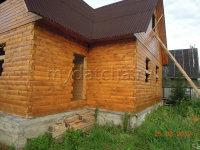 Дом из бруса 6х8 (ДУ16)