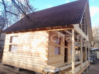 Дом из бруса 6х6 (ДУ25)