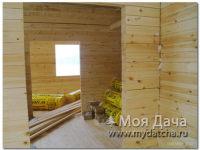 Дом из бруса 9х12 (ДУ6)