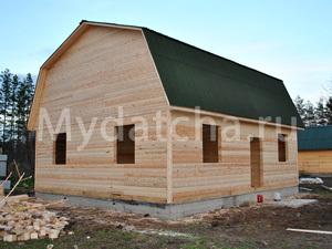 Дом из бруса 8х9 (ДУ12)