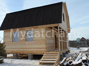 Дом из бруса 6х7,5 (ДУ22)