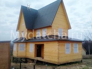 Дом из бруса 7х12 (ДУ27)