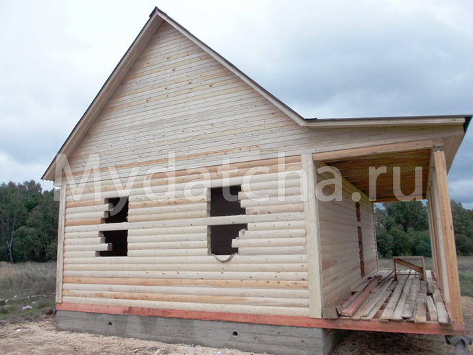 Дом из бруса 8х9 (ДУ31)