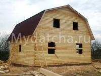 Дом из бруса 8х9 (ДУ34)