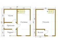 Дом 6х6 (Инта)