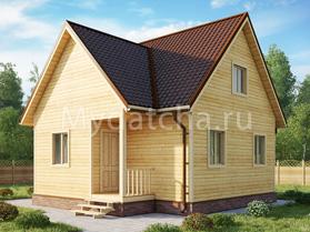 Дом 7х8 (Агата)
