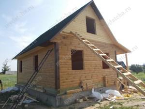 Дом из бруса 8х9 готов