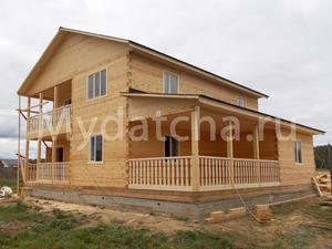Дом из бруса 11х12