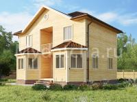 Дом из бруса 7х9 (Ачинск)