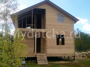 Дом из бруса 7х8 (ДУ35)