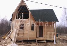 Дом из бруса  7х7 почти готово