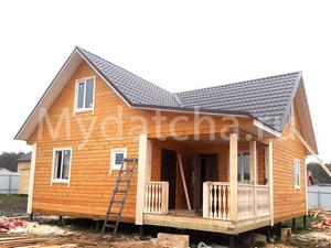 Дом из бруса 9х9 (Д71)