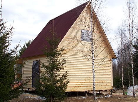 Проект дома из бруса 6х8