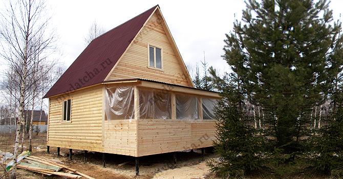 Дом из бруса 6х8