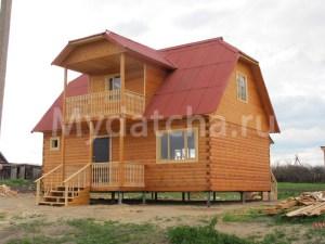 Дом из бруса 6х9 построен